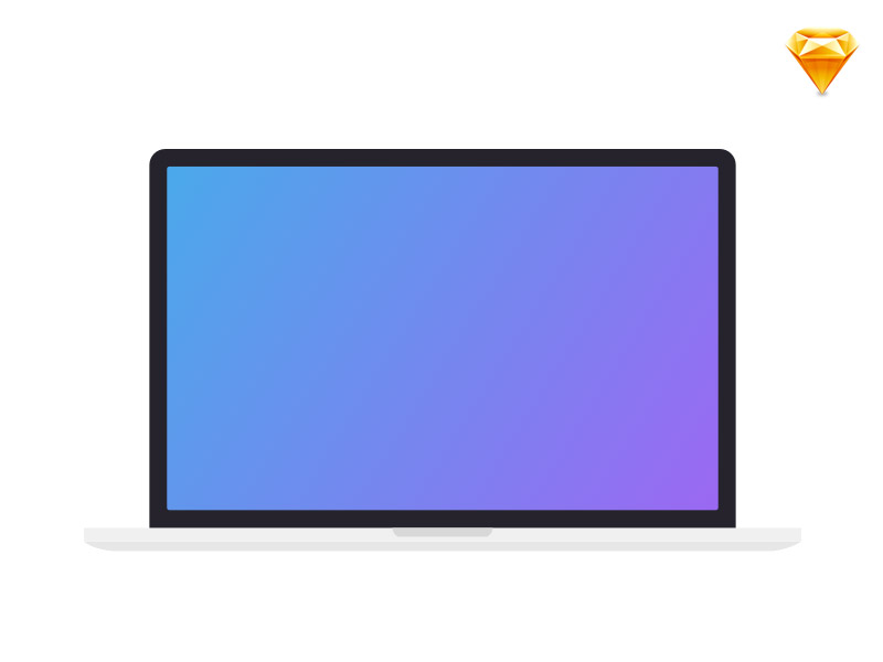 Minimalist Macbook Template