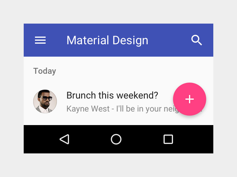 Material Design Interface Resouces