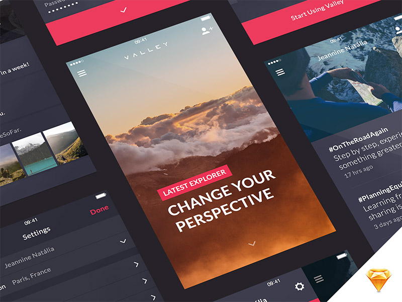 Valley UI Kit