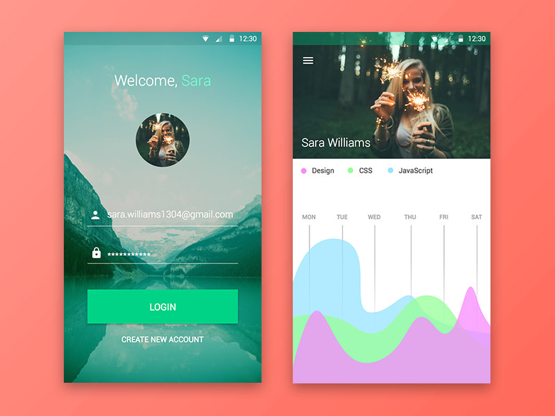 Android Material UI Kit