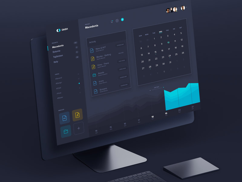 Dash - Dashboard UI Kit