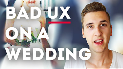 Design VS. Usability: Bad UX On A Wedding