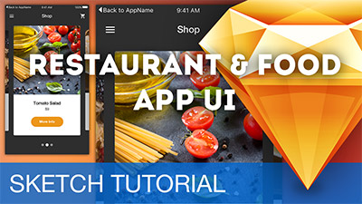 Restaurant & Food App UI