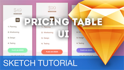 Pricing Tables for Web UIs