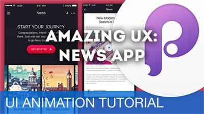 News App Transition