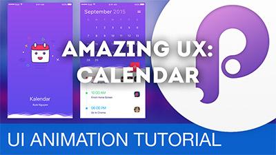 Calendar App Transition