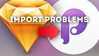(Annoying) Problems when importing Sketch Files to Principle.