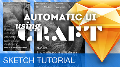 Creating UIs with automatic Content using CRAFT