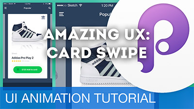 Animate eCommerce Cards for a great UX