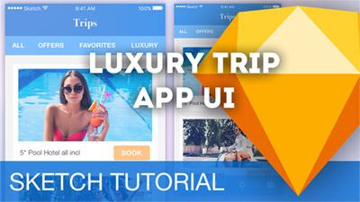 Luxury Trip App UI/UX