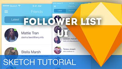 Follower List UI