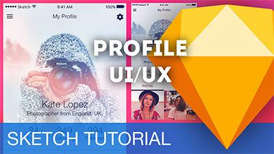 Profile UI/UX