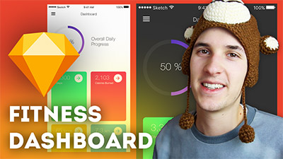 Fitness Dashboard User Interface